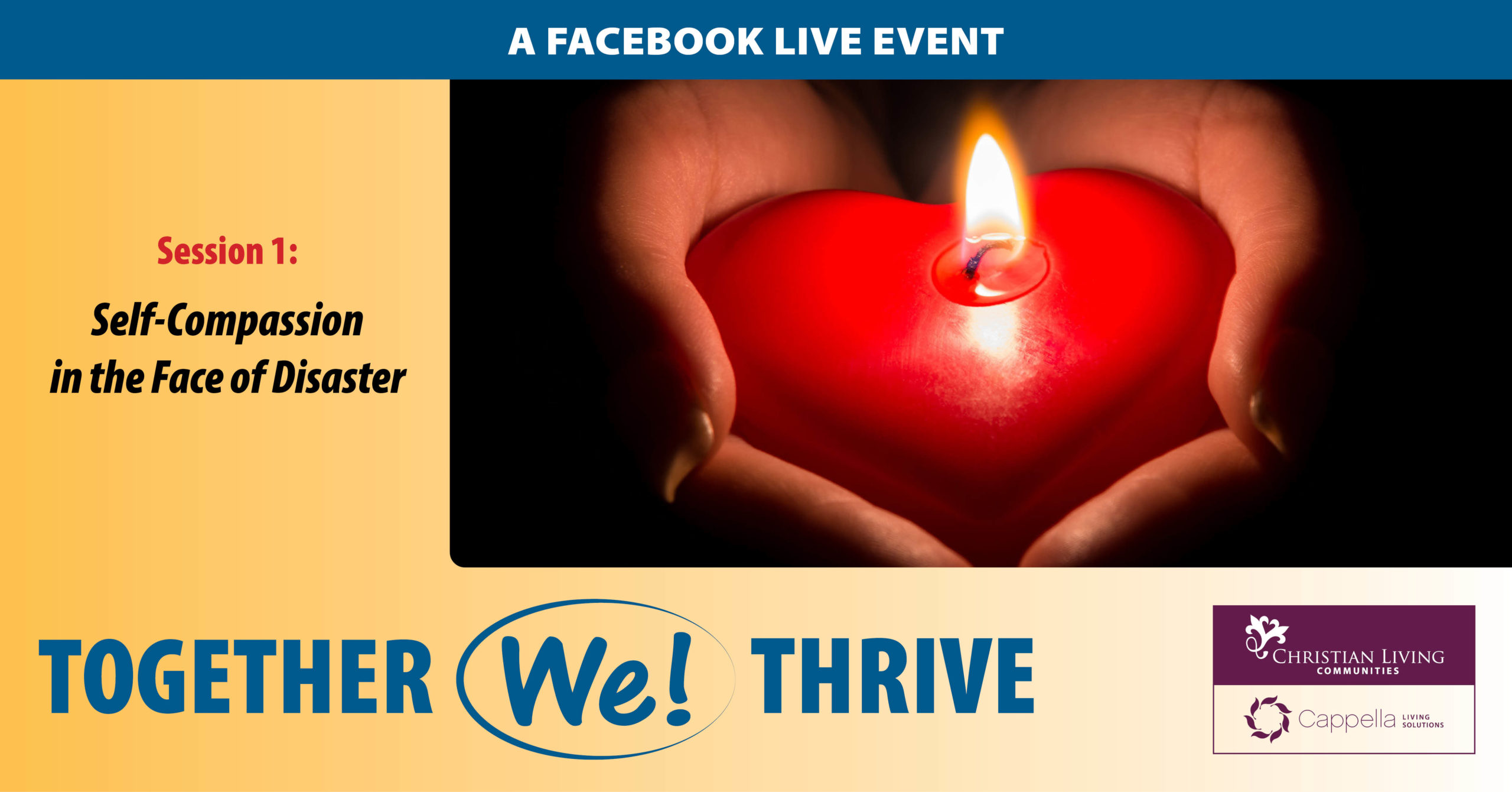 Self Compassion in the Face of Disaster Facebook Live Event
